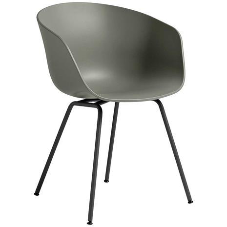Hay Hay-AAC 26 Tuoli, Musta Jalusta / Dusty Green