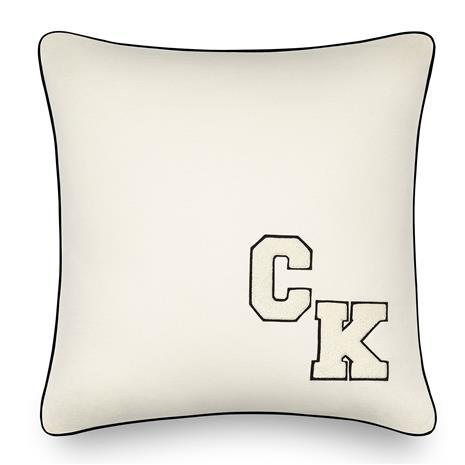 Calvin Klein Home Calvin Klein Home-Calvin Klein Varsity Pillow 51x51 cm, Cream