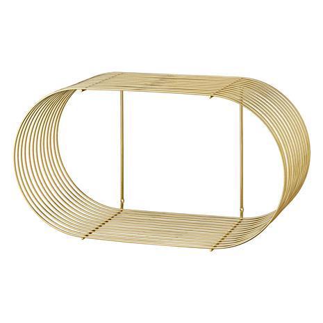 AYTM AYTM-Curva Hylly Suuri 61.4 x 33 cm, Kulta