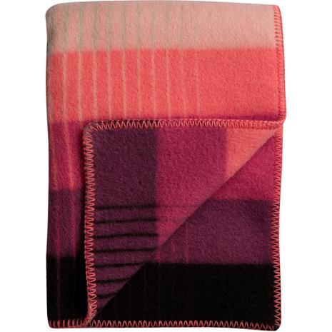 Rä¸ros Tweed Rä¸ros Tweed-ä…smund Gradient Huopa 135x200 cm, Pinkki / Vihreä