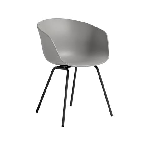 Hay Hay-AAC 26 Tuoli, Musta Jalusta / Vaaleanharmaa