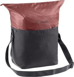VAUDE CityShop Bike Bag 24l, vaaleanpunainen