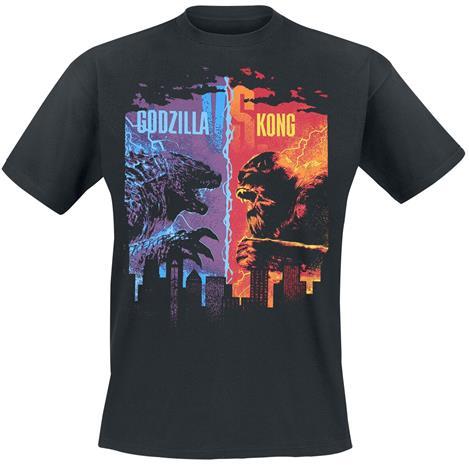 Godzilla - Godzilla vs. King Kong - T-paita - Miehet - Musta