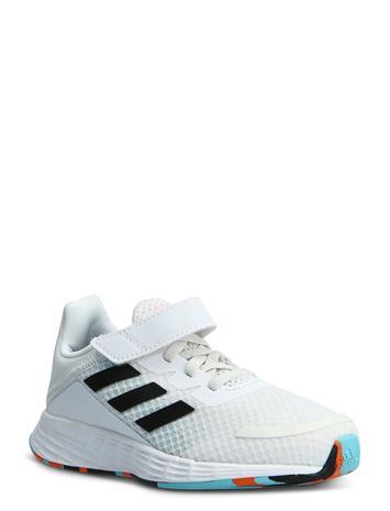 adidas Performance Duramo Sl C Matalavartiset Sneakerit Tennarit Valkoinen Adidas Performance FTWWHT/CBLACK/PULAQU
