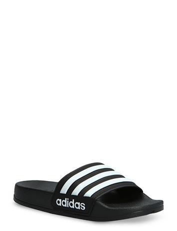 adidas Performance Adilette Shower K Shoes Summer Shoes Pool Sliders Musta Adidas Performance CBLACK/FTWWHT/CBLACK