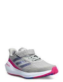 adidas Performance Eq21 Run El K Matalavartiset Sneakerit Tennarit Harmaa Adidas Performance GRETWO/SONINK/SHOPNK