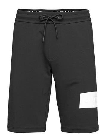 Calvin Klein Jeans Blocking Logo Short Shorts Casual Musta Calvin Klein Jeans CK BLACK