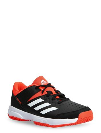 adidas Performance Court Stabil Jr Shoes Sports Shoes Running/training Shoes Musta Adidas Performance CBLACK/FTWWHT/SOLRED
