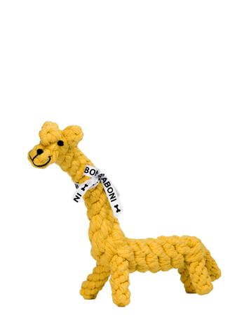 Laboni Dogtoy- Gretchen Giraffe Accessories Dog Accessories Keltainen Laboni YELLOW