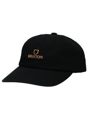 Brixton Alpha LP Cap black / gold