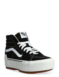 VANS Shoe Adult Unisex Numeric Wid Korkeavartiset Tennarit Musta VANS (SUEDECANVAS)BLKBLNCDBLNC