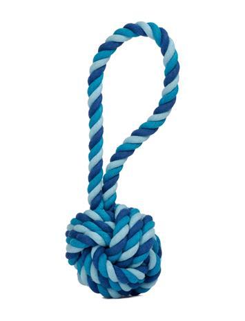 Laboni Dogtoy- Maxi Sling Ball Accessories Dog Accessories Sininen Laboni BLUE