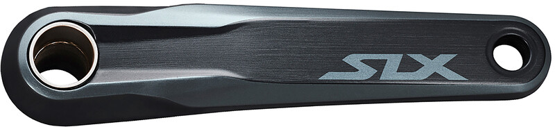 Shimano SLX FC-M7100-1 Crankset 12-speed w/o Chainring, musta
