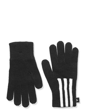 adidas Performance 3s Gloves Condu Hanskat Käsineet Musta Adidas Performance BLACK/WHITE/WHITE