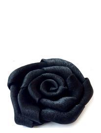 PIPOL'S BAZAAR Flower Big Hair Clip Hiustarvikkeet Musta PIPOL'S BAZAAR BLACK
