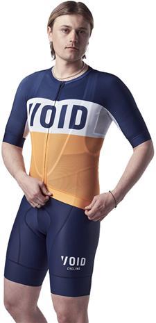 VOID Fusion SS Jersey Men, oranssi/sininen