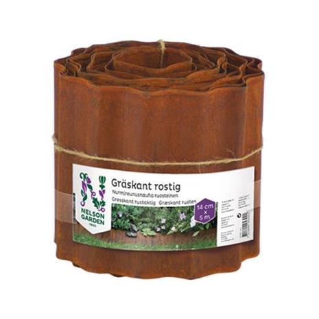 Nelson Garden 5302 Nurmireunus ruosteenvärinen, 14x500 cm