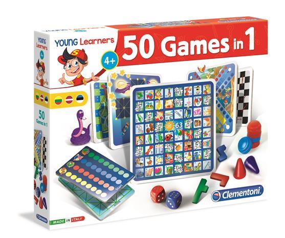 CLEMENTONI Kehittävä lelu sarja Fun together 50in1 games (Baltic), 50538