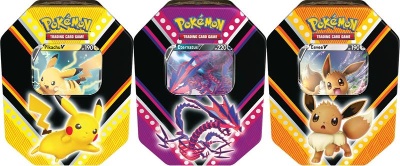 Pokemon - V Powers Tin (POK80779)