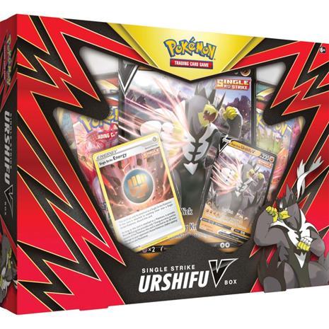 Pokemon - Poke Box Battle Style V Box- Red (Pokemon Cards)