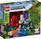 Lego Minecraft 21172, Raunioitunut portaali