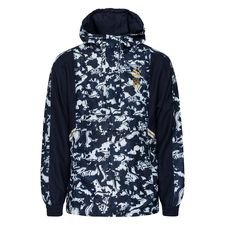 Italia Takki Woven 1/2 Zip Tailored For Sports EURO 2020 - Navy/Sininen