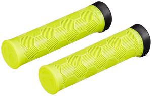 Bontrager XR Trail Comp Recycled Plastic Grips, keltainen