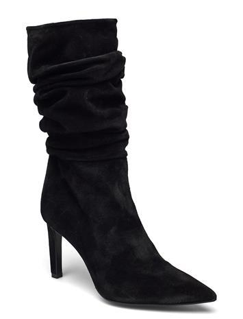 Billi Bi Booties Shoes Boots Ankle Boots Ankle Boot - Heel Ruskea Billi Bi TABAC BABYSILK SUEDE