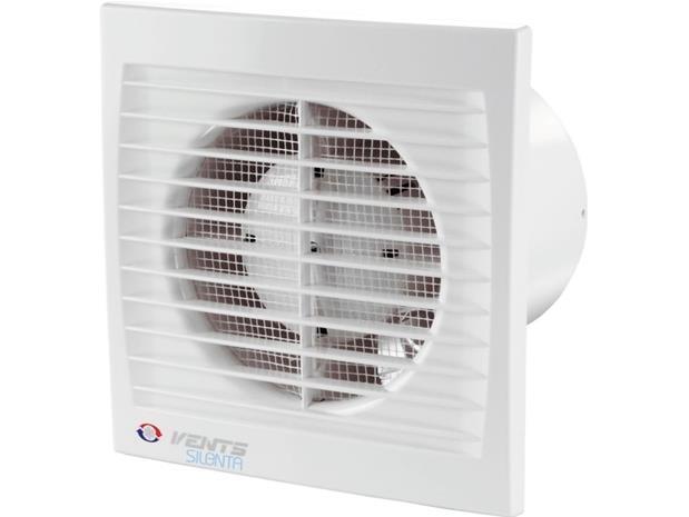 Vents Axial fan fi 150 20W 33dB white timer (150SILENTA-STL)