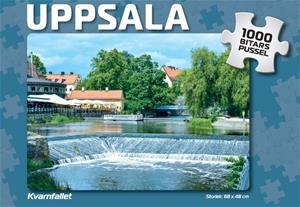 Uppsala Kvarnfallet Pussel 1000 bitar