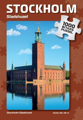 Stockholm Stadshuset Pussel 1000 bitar