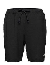 adidas Performance City Fleece Training Shorts Shorts Sport Shorts Musta Adidas Performance CARBON