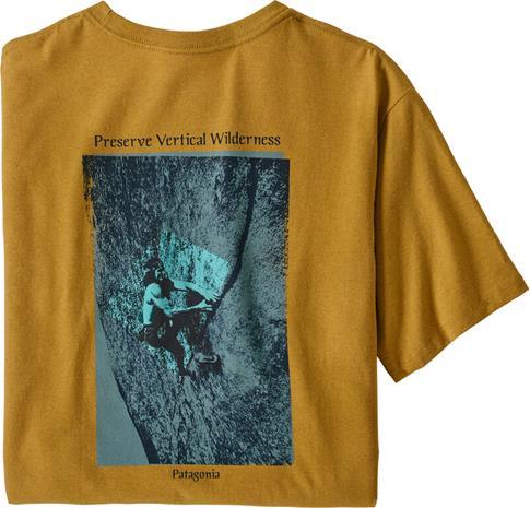 Patagonia Granite Magic Pocket Responsibili-Tee Men, keltainen