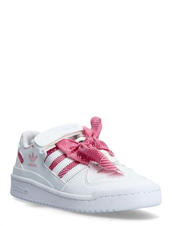 adidas Originals Forum Low Matalavartiset Sneakerit Tennarit Vaaleanpunainen Adidas Originals FTWWHT/FTWWHT/LTPINK