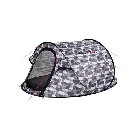 High Peak Vision kolmen hengen pop-up teltta, camouflage