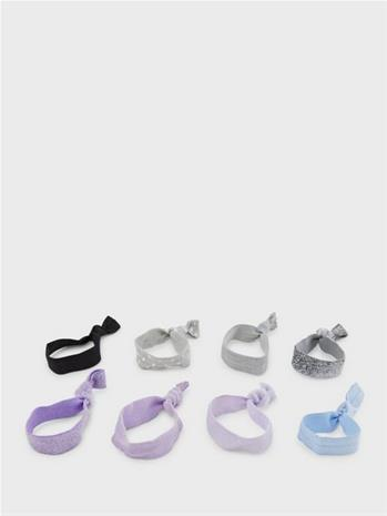 Pieces Pcjaggy 8-Pack Hair Elastic D2D Sheer Lilac Pack 2-Multi