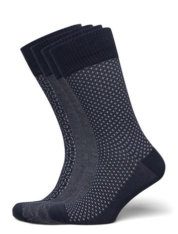 Levi´s Levis Giftbox Reg Cut Denim 4p Underwear Socks Regular Socks Musta Levi´s MOOD INDIGO