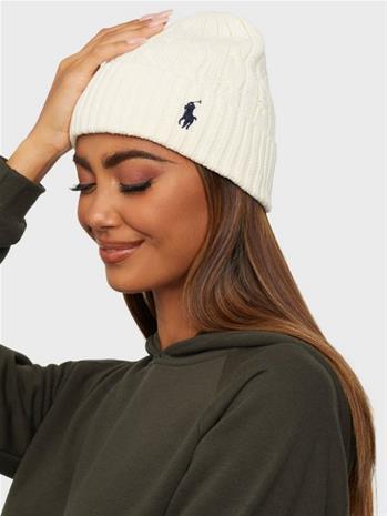 Polo Ralph Lauren Ct Cble Hat-Hat-Cold Weather Cream
