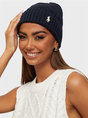 Polo Ralph Lauren Ct Cble Hat-Hat-Cold Weather Blue