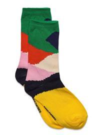 Bobo Choses Multicolor Print Long Socks Lingerie Socks Regular Socks Monivärinen/Kuvioitu Bobo Choses TWILIGHT BLUE