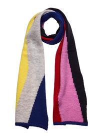 Bobo Choses Multicolor Print Brushed Knit Scarf Huivi Monivärinen/Kuvioitu Bobo Choses PRISM PINK