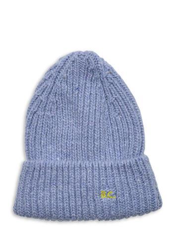 Bobo Choses Blue Wool-Mix Beanie Accessories Headwear Beanies Sininen Bobo Choses BALLAD BLUE