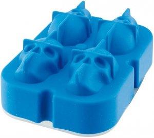ILSA silikoninen jääpalamuotti pääkallo 3 x 4 cm