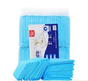 Lemmikkieläinten vaipat Kertakäyttövaipat Paksuuntunut imukykyinen virtsa ei ole märkä 100 kpl paperityynyjä Pet Coaster Blue / XS