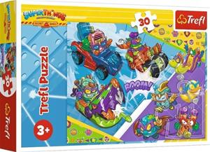 Puzzle 30 pieces Team of Super Spies Super Zings