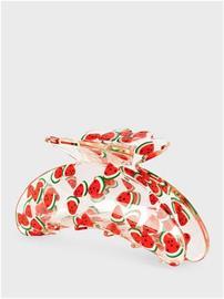 Sui Ava helle-fruit-big-hair-grip Watermelon