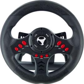Subsonic Universal Racing Wheel, PC/PS4/PS3/Xbox One -rattiohjain