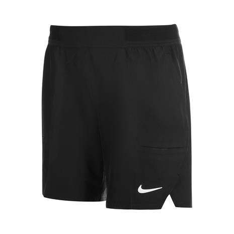 Nike Dri-FIT Advantage 7'' Shorts Black/White M, Shortsit, housut ja hameet