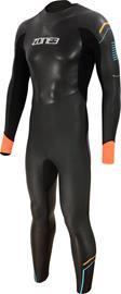 Zone3 Aspect Breaststroke Wetsuit Men, musta