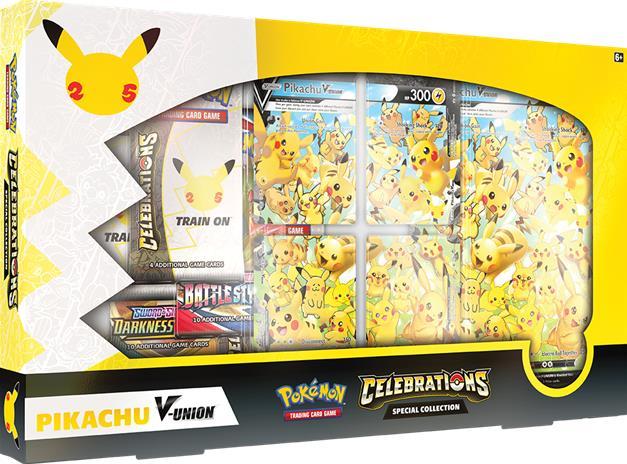 Pokemon Celebrations Pikachu V-UNION Special Collection